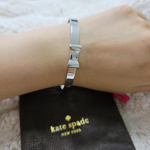 Mini Bow Silver Kate Spade Bracelet